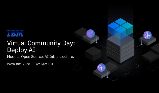 IBM Virtual Community Day logo